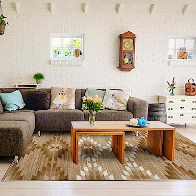 Ambience 比利時Shiraz 時尚地毯-麒麟駝 160x230cm