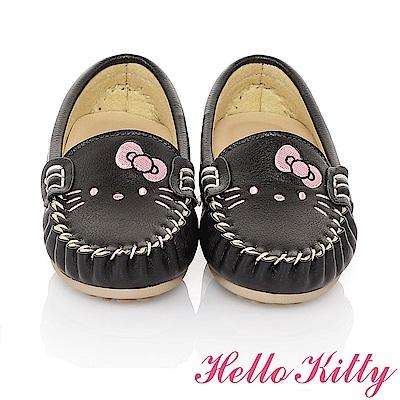 HelloKitty 親子鞋-百搭輕量柔軟減壓防滑休閒童鞋-黑