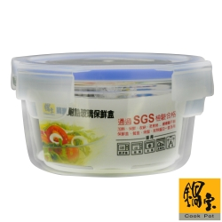 鍋寶 耐熱玻璃保鮮盒830ml
