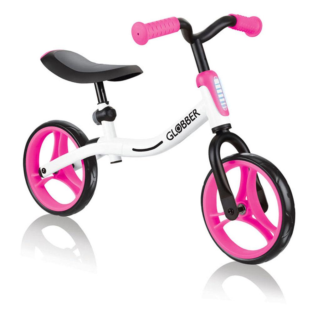 Globber 哥輪步 Go-Bike平衡車-白粉 @ Y!購物