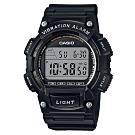CASIO 大錶面風格10年電力設計電子錶(多色任選)