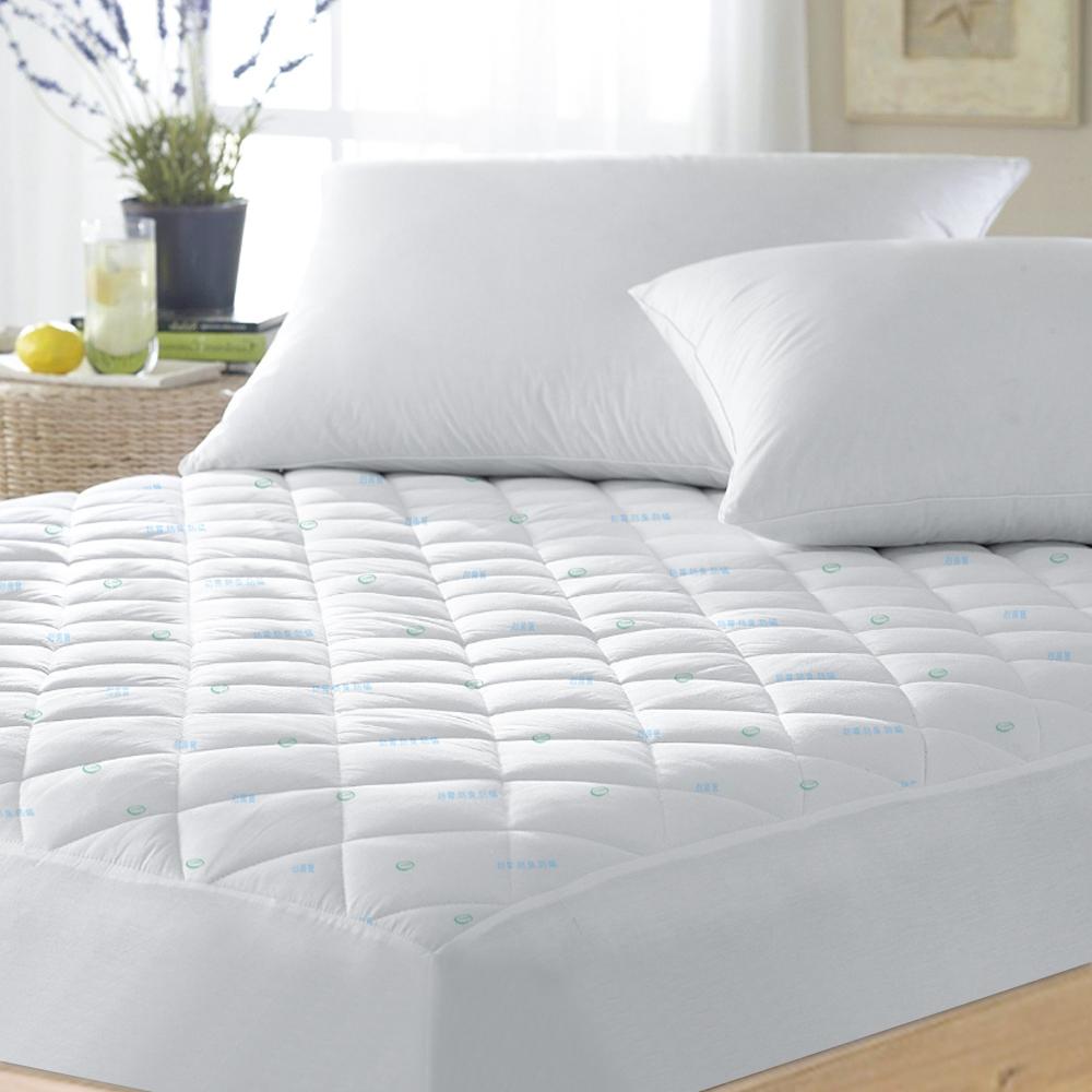 澳洲Simple Living 單人防蹣抗菌防潑水床包式保潔墊-(台灣製)