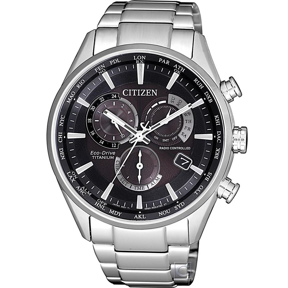 CITIZEN 電波對時限量腕錶(CB5020-87E)44mm