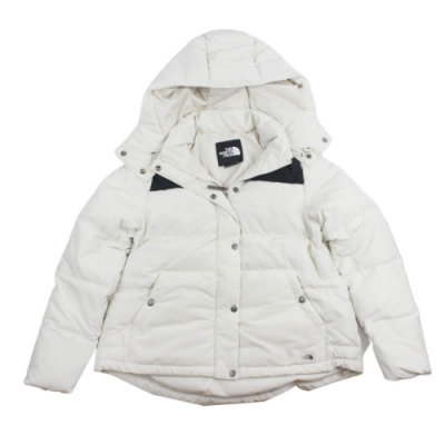 TNF 女 DOWN CROP JACKET - NF0A3VUF11P1 羽絨外套