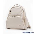 Samsonite新秀麗 Skyler 2.0輕量多口袋印花女性後背包(亮灰)