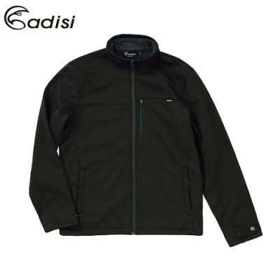 ADISI 男softshell防風超撥水高透氣保暖外套AJ1921054