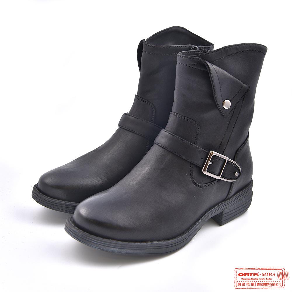 ORIS 女款 柔軟質感中筒靴 W8536N01