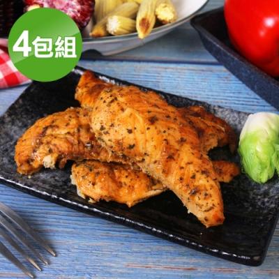 海鮮王 香草雞柳條*4包組(340g±10%/包)