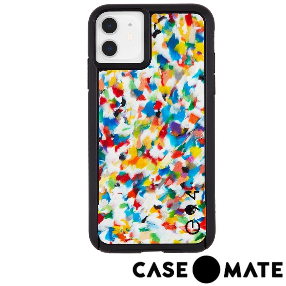 美國 Case●Mate iPhone 11 防摔手機保護殼愛護地球款 - 彩虹迷彩