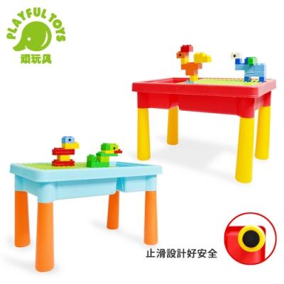 Playful Toys 頑玩具 大顆粒50片積木桌 (隨機出貨)