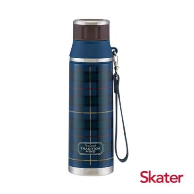 Skater 輕便不鏽鋼保溫水壺(500ml) 藍