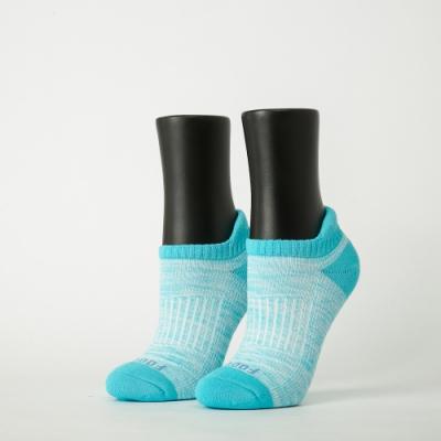 Footer除臭襪-線條拼色輕壓力船短襪-六雙入(藍*2+桃紅*2+黑*2)