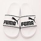 零碼-27/28cm PUMA童鞋 輕量拖鞋款 TH60263-08白