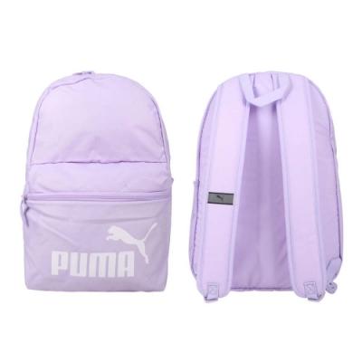 PUMA PHASE後背包-雙肩包 肩背包 反光 22L 07548756 粉紫白
