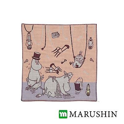 日本丸真 Moomin今治三層紗布方巾-大掃除