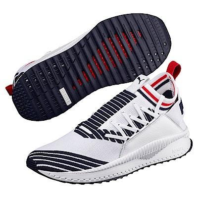 PUMA-TSUGI Jun Sport Stripes 男女慢跑鞋-白色