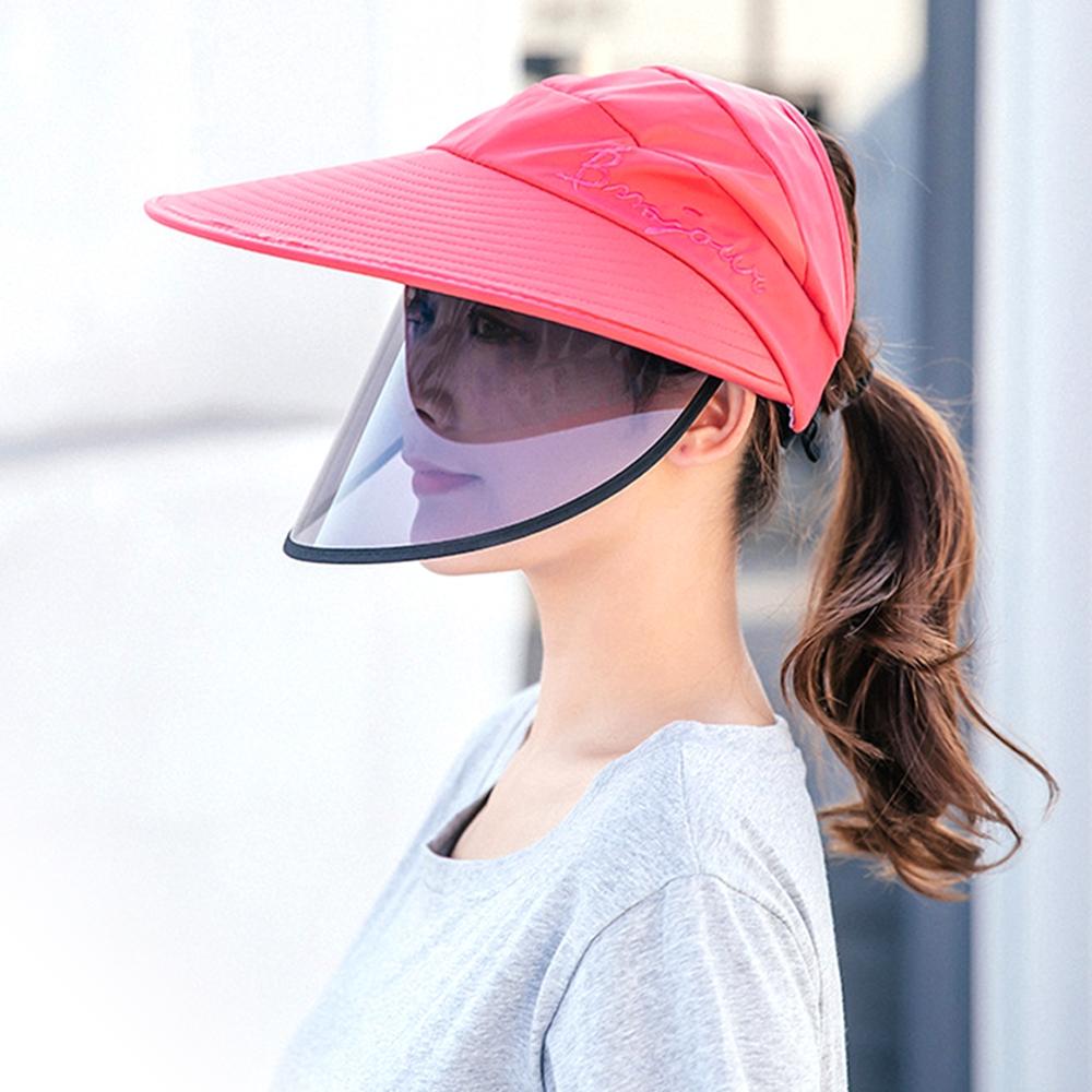 Conalife 升級版防疫防口沬抗紫外線時尚大檐防曬遮陽帽 (1入)