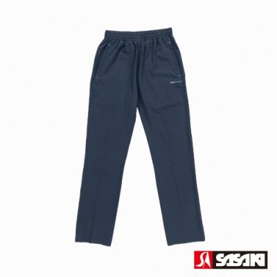 SASAKI 抗紫外線功能四面彈力伸縮休閒長褲-男-丈青/亮藍