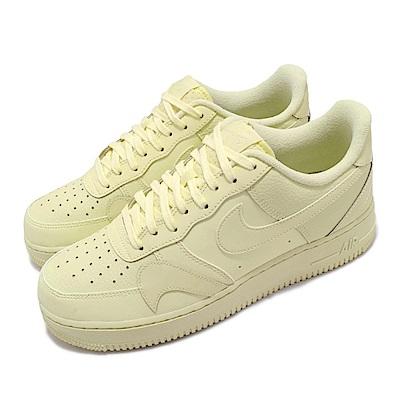 Nike 休閒鞋 Air Force 1 07 運動 男女鞋 經典款 AF1 皮革 簡約 情侶穿搭 米白 CK7214700