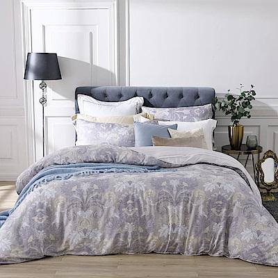 BBL Premium 古典魅影100%萊賽爾纖維天絲印花兩用被床包組(加大)