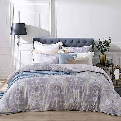 BBL Premium 古典魅影100%萊賽爾纖維天絲印花兩用被床包組(特大)