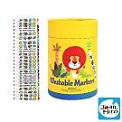 【西班牙 JoanMiro 原創美玩】幼兒圓頭可水洗彩色筆(24色) JM09470