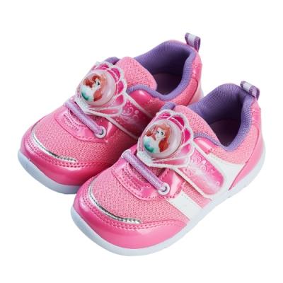 迪士尼童鞋 小美人魚  愛麗兒電燈休閒鞋