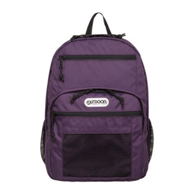 【OUTDOOR】率性學院-後背包-紫色 OD291102PL