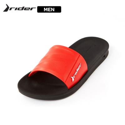 Rider ATHLETIC機能核芯一字拖男鞋 紅