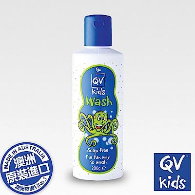 QV兒童專用舒敏潔膚乳200ML/瓶