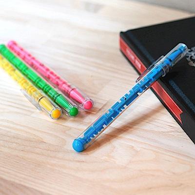 賽先生科學 迷宮筆 (2入組) 顏色隨機