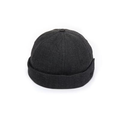 FILA 時尚LOGO水兵帽-黑 HTU-1205-BK