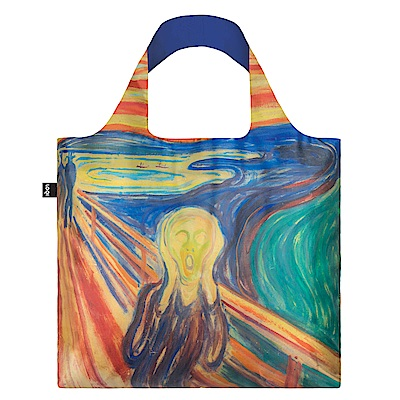 LOQI購物袋-博物館系列彩色吶喊EMSCCO