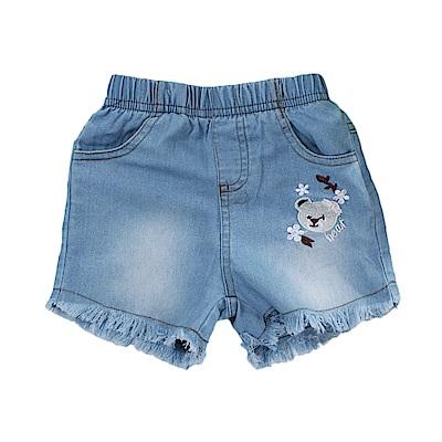 女童牛仔短褲  k51070 魔法Baby