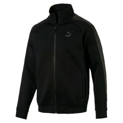 PUMA 流行系列Luxe  男立領外套-黑-59707401