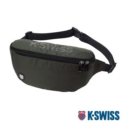 K-SWISS AT FANNY BAG 1運動腰包-橄欖綠