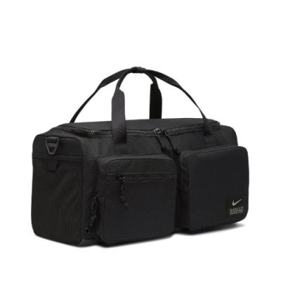 Nike 手提包 Utility Power Duffel 健身包 肩背 外出 旅遊 大容量 多夾層 黑 CK2795010