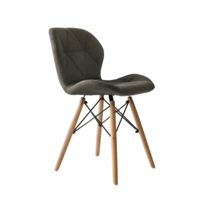 完美主義 復古北歐風餐椅/楓木椅/電腦椅/化妝椅-2入組(5色)