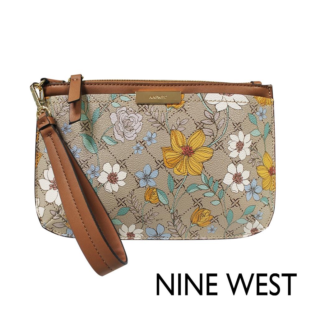 NINE WEST KENNEDY手拿式皮夾-LOGO印花(106839)