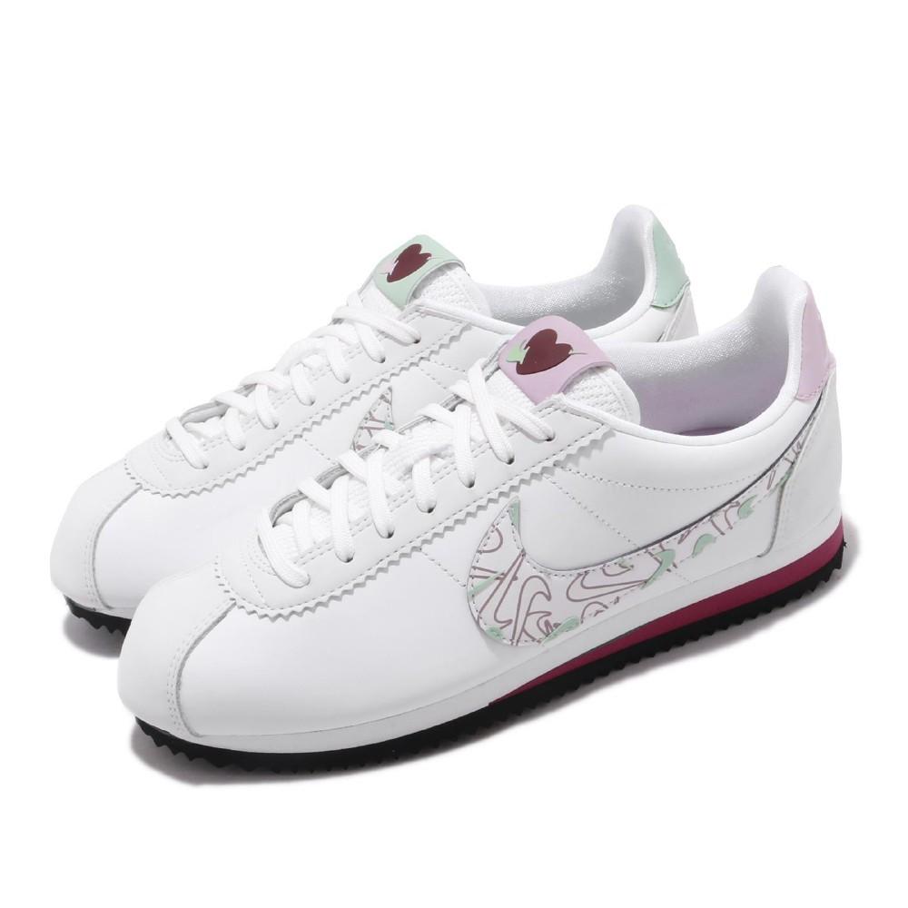 Nike 休閒鞋 Cortez SE 阿甘 愛心 女鞋