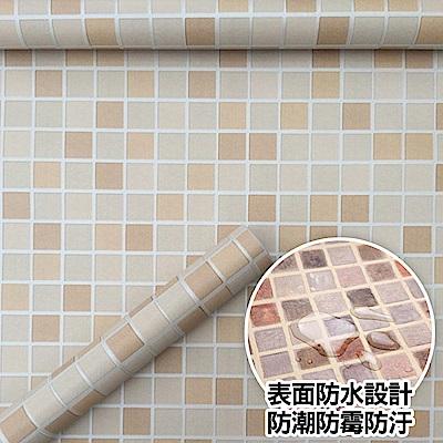 佶之屋 3米廚房衛浴大無敵防水防油磁磚壁貼