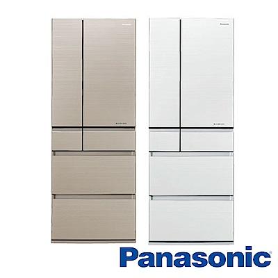 [無卡分期12期]Panasonic國際牌 六門電冰箱 NR-F553HX 日本製