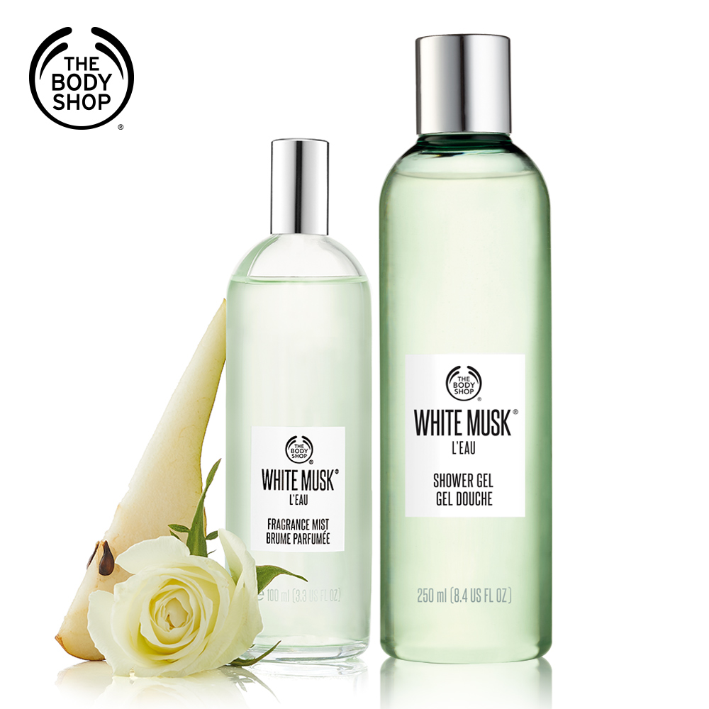 The Body Shop 綠麝香淡雅香氛沐浴組