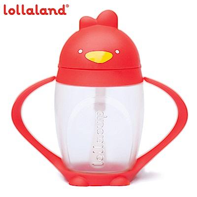 美國Lollaland可愛造型小雞杯 吸管學習杯/水壺296ml (當紅炸子雞/紅色)