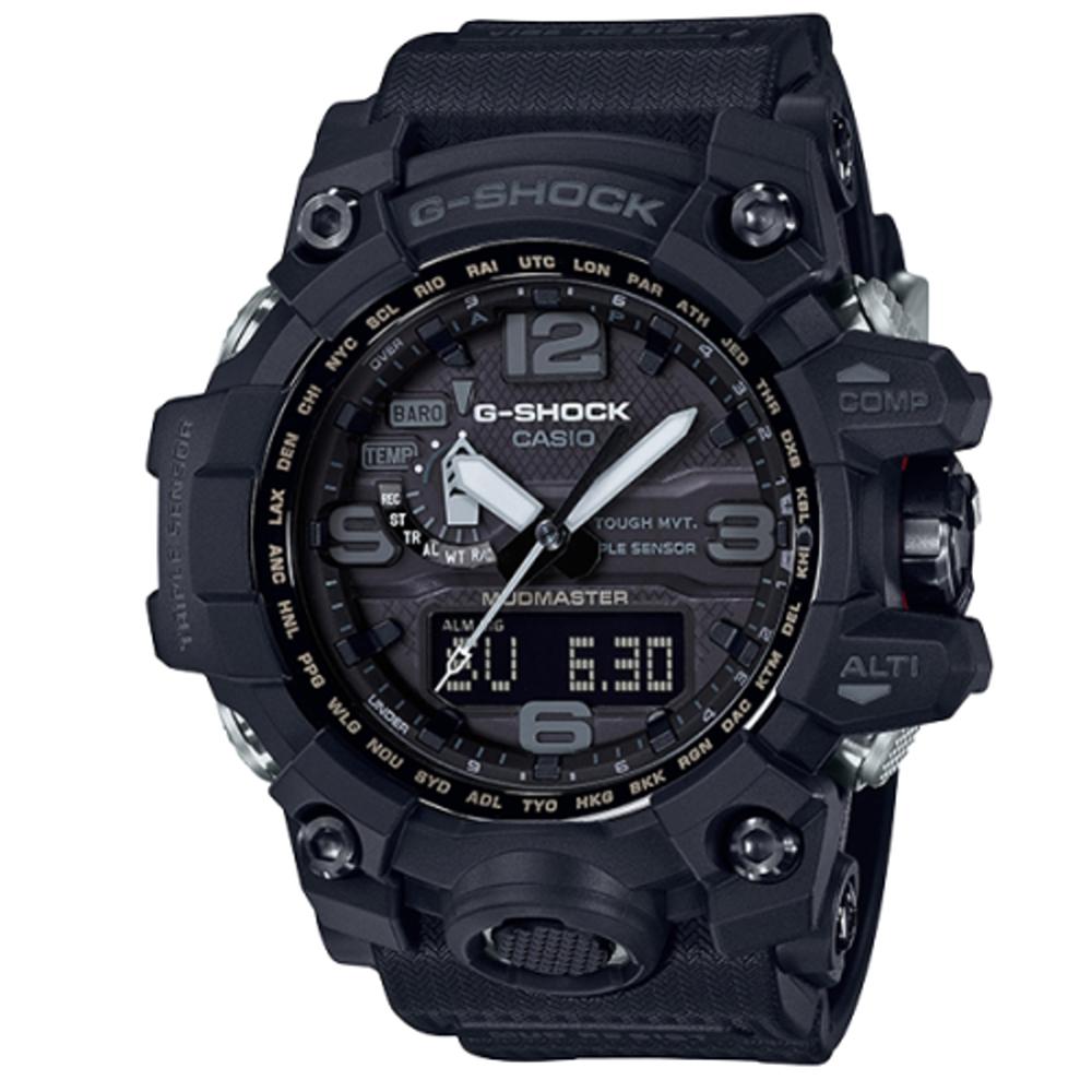 CASIO G-SHOCK/強悍有力征服電波動運腕錶/GWG-1000-1A1DR @ Y!購物