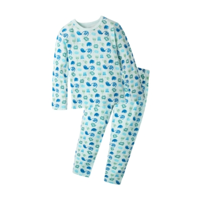 Baby童衣 居家系列 純棉兒童長袖印花套裝 70119