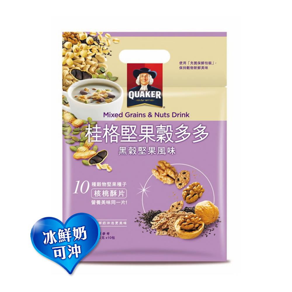 桂格 堅果穀多多系列-黑穀堅果風味(10入/袋)