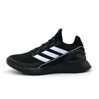 ADIDAS RapidaRun KNIT EL C 童 跑步鞋 黑-EE7639