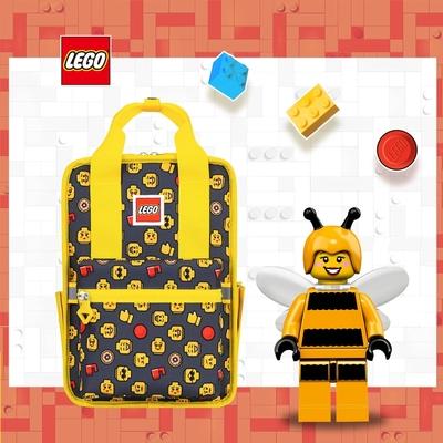 LEGO丹麥樂高歡樂小背包-積木表情符號黃色 20127-1934