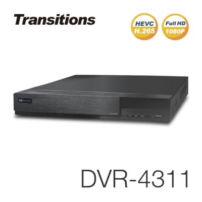 全視線 DVR-4311 4路 H.265 1080P HDMI 台灣製造 (AHD/TVI/CVI/CVBS/IP) 多合一智能錄放影機